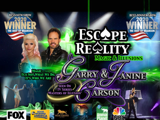 Escape Reality Magic - The Must See Magic Show of Branson!